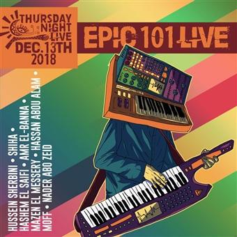 EPIC 101 LIVE @ Cairo Jazz Club