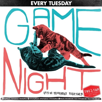 Game Night  @    The Tap Maadi