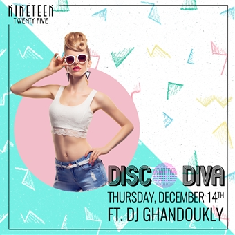 Disco Diva ft. DJ Ghandoukly @ 1925