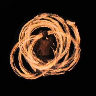 Poi Spinning @ Zen Space