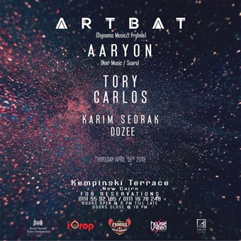 I-Drop Presents ARTBAT & Aaryon @ Royal Maxim
