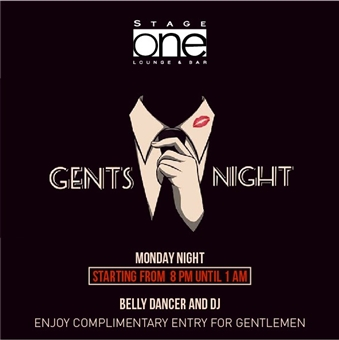 Gents Night @ Stage  One