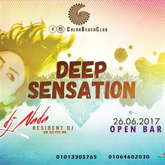 Deep Sensation ft. Nada  @ Color Beach Club