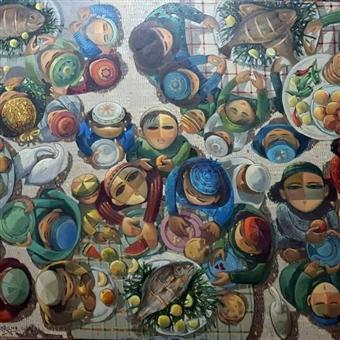 Over A Head - Solo Exhibition by Taha El Korany