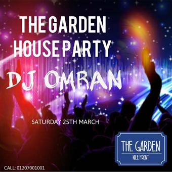 DJ Mo Omran @ The Garden Nile Front