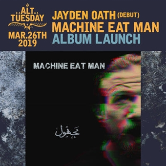 Machine Eat Man 'Album Launch' @ CJC