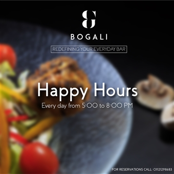 Happy Hours @ Bogali