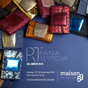 Rania Teymour F/W '19 Collection @ Maison 69