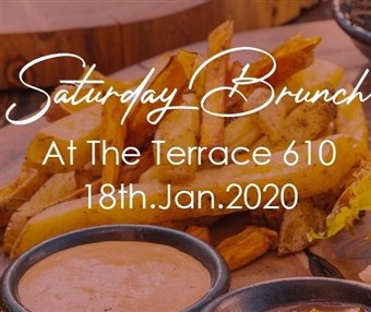 SATURDAY BRUNCH AT THE TERRACE 610 @ CJC 610