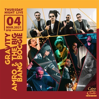 Thursday Night Live: Gravity, Amro & The Big, Bang Boogie @ CJC