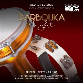 Darbouka Night Ft .Dj Mido @ Stage One