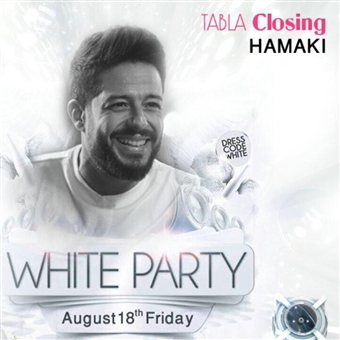 White Party ft. Hamaki @ Tabla Sahel