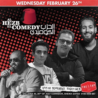 Al Hezb El Comedy @ The Tap West