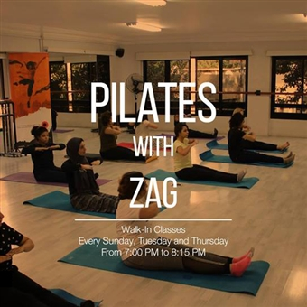 Walk-In Pilates w/ ZAG @ CCDC