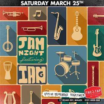 Jam Night @ The Tap Maadi