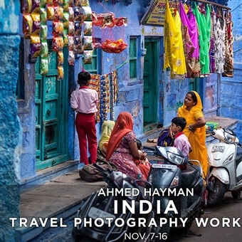 INDIA TRAVEL PHOTOGRAPHY WORKSHOP @ BES