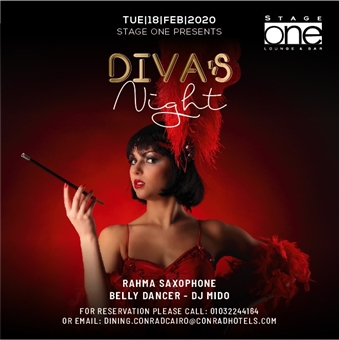 Divas Night Ft.Rahma Saxophone @ Stage One