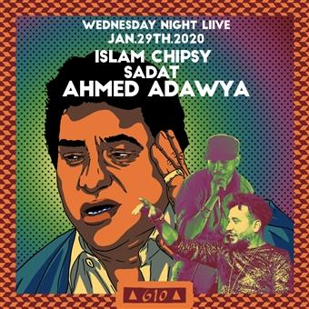 Ahmed Adaweya, Islam Chipsy & Sadat @ Cjc 610