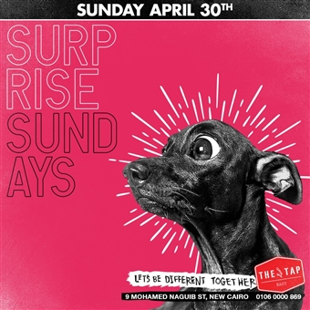 Surprise Sundays @ The Tap East