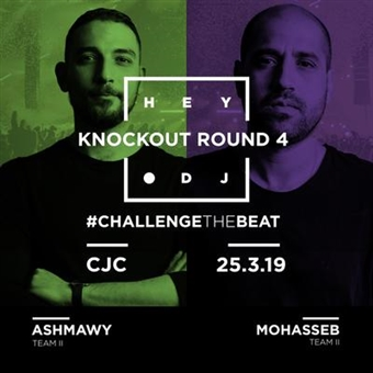 Hey DJ Knockout Round 4 @ CJC