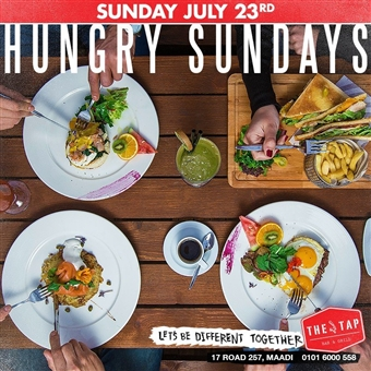 Hungry Sundays @ The Tap Maadi