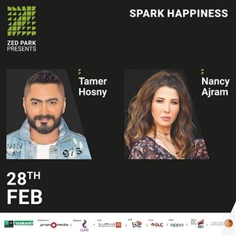 Tamer Hosny & Nancy Ajram @ Zed Park
