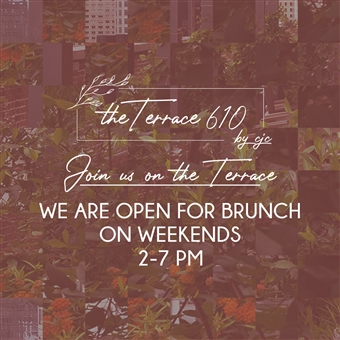 Saturday Brunch @ The Terrace 610