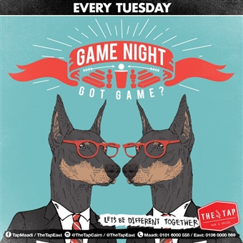 Game Night @The Tap Maadi