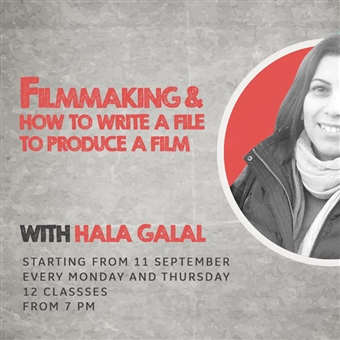 Filmmaking By Hala Galal @ Studio Zat