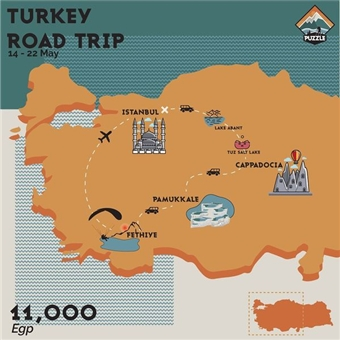 Turkey Road Trip