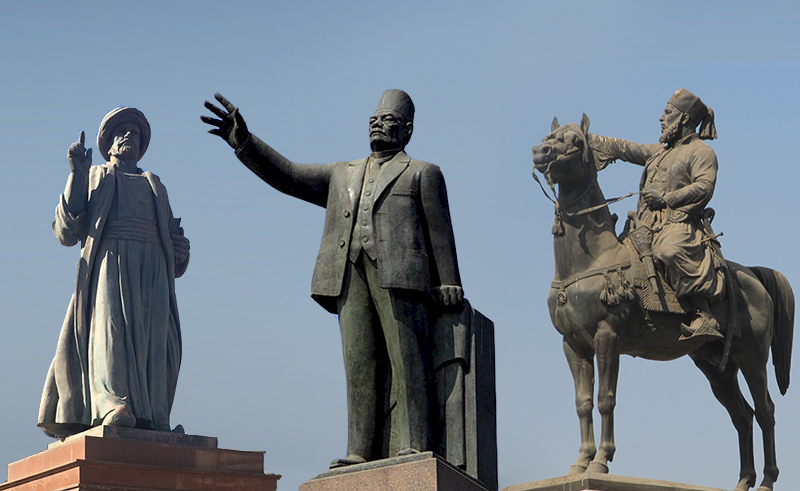 The Statues of Downtown Cairo