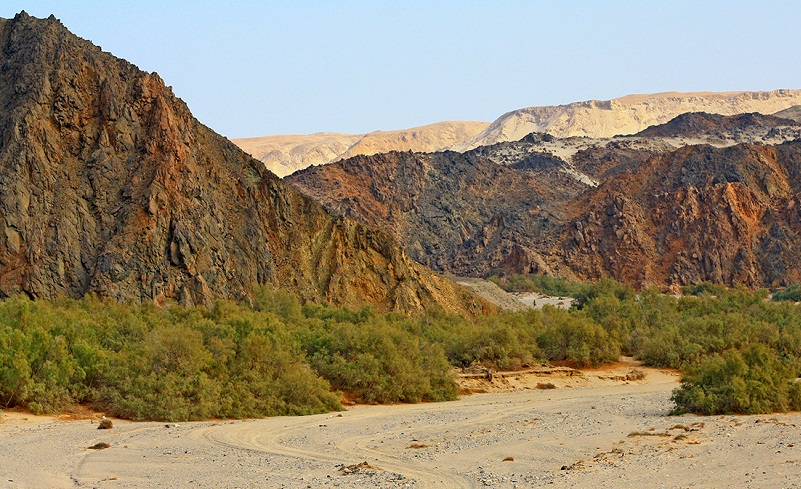 wadi el gemal valley of the camels