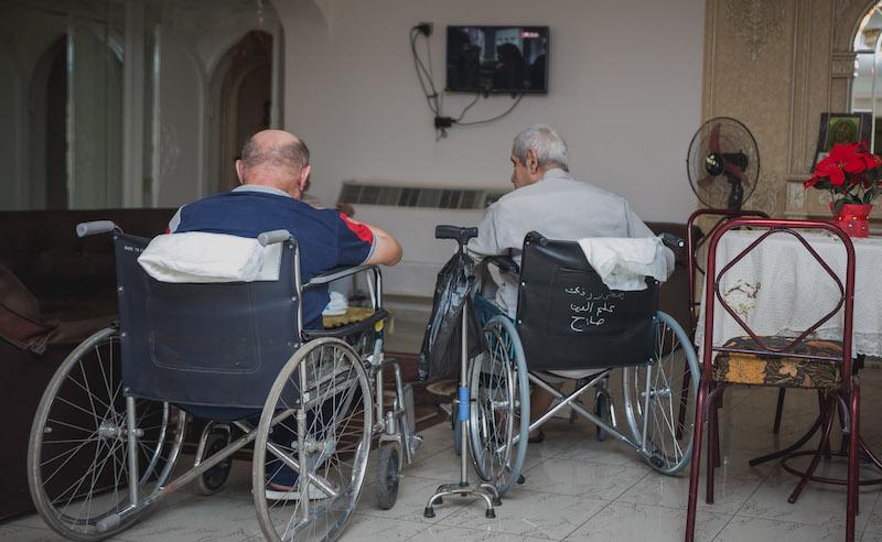 Elderly ride sharing