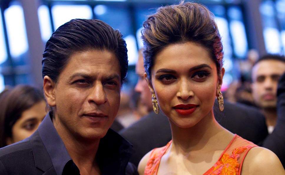 Shah Rukh Deepika Padukone