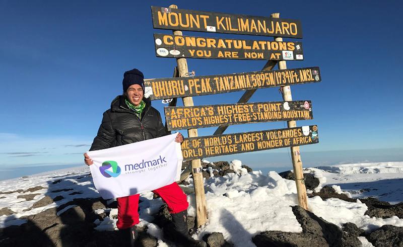 Mariz Doss Climbs Kilimanjaro