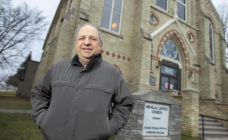 Michael Haddad Egyptian Canada Church