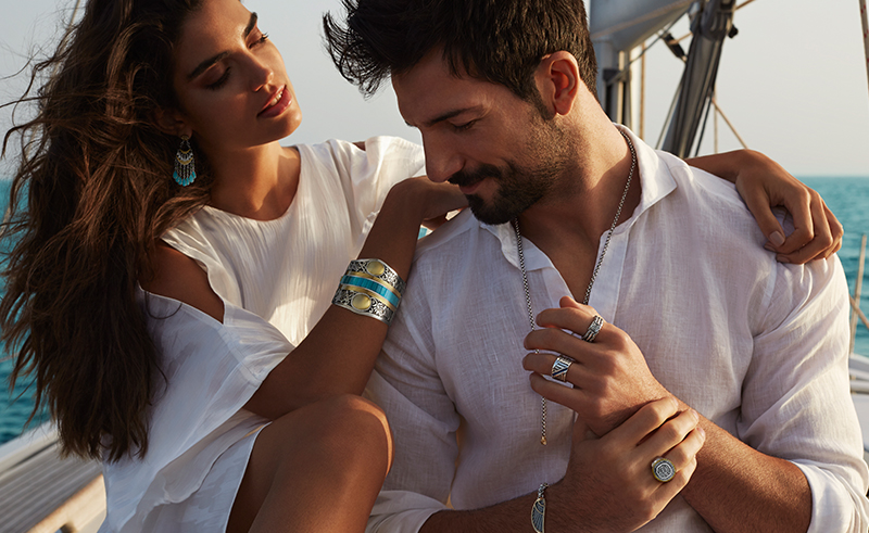 Azza Fahmy Releases Summer Men's Jewellery Collection & New Gypsy Collection