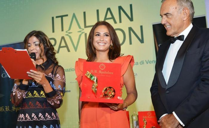 Hend Sabry Becomes First Arab Woman to Win Venice Film Festival's Starlight Cinema Award