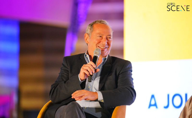 Samih Sawiris at Rise Up Summit.