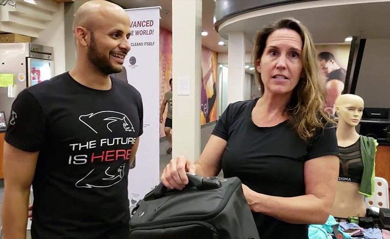 transforma x Egyptian start up smart bag