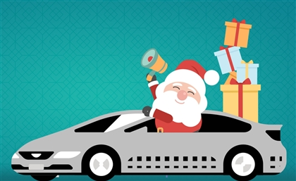 Santa is Delivering Presents to Cairo and Alexandria in an Uber This Year