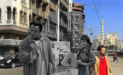 This Egyptian Artist Superimposes Classic Movie Moments on Their Modern Day Locations