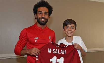 Mohamed Salah Makes Young Syrian Refugee's Dream Come True