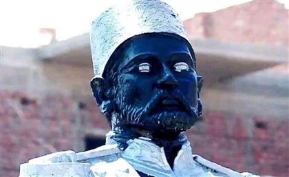 Egyptian Ministry of Culture to Investigate Khedive Ismail Statue's Shocking New Paint Job
