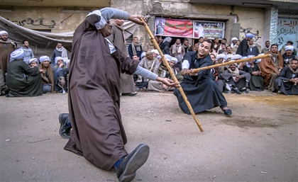 School for Traditional Martial Art 'Tahtib' Opens in Qena