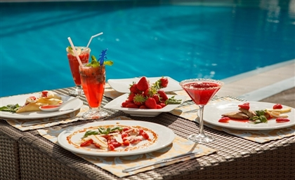 Mezaj Is the New Poolside Restaurant Embracing Hot Girl Summer
