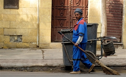 Vacuum Cleaners are Replacing Brooms to Clean Up Cairo's Streets