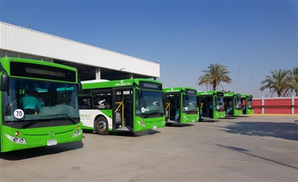 Giza & Heliopolis Commutes Just Got Greener with Fleet of Green Buses