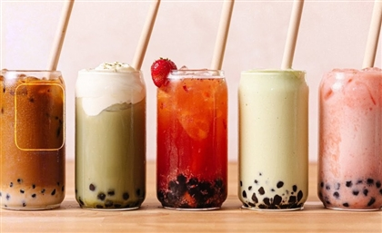 This Brand Is Cairo's Newest Spot Serving Boba Tea Realness