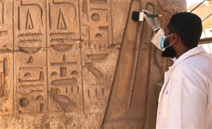 Restoration of Karnak Temple in Light of Rams Road Development Project